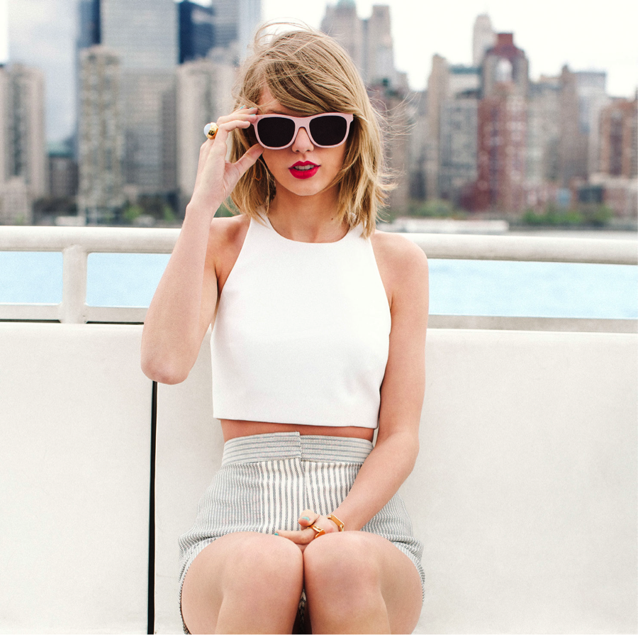 "Image from Google. Music sensation, Taylor Swift, drops her fifth album titled ""1989"" on Oct. 27."