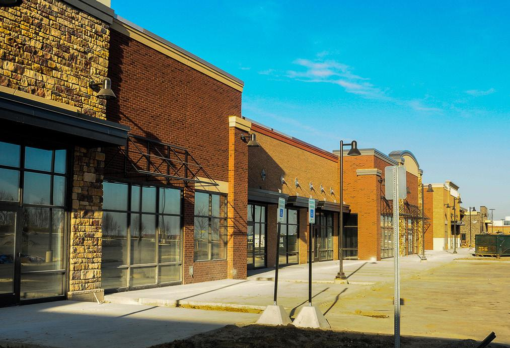 PHOTOS BY ALEXANDER WOODLIFF STAFF PHOTOGRAPHER Northville Park Place is going through the final stages of development. Developer Schostak Brothers & Company says its tenants will begin business starting in spring 2015.
