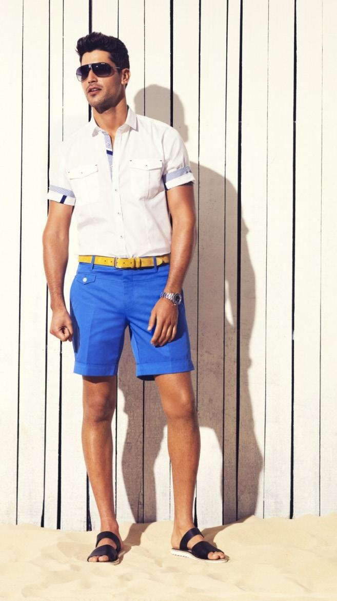 A versatile clothing piece for guys are tailored shorts, as they offer many ways to wear them.