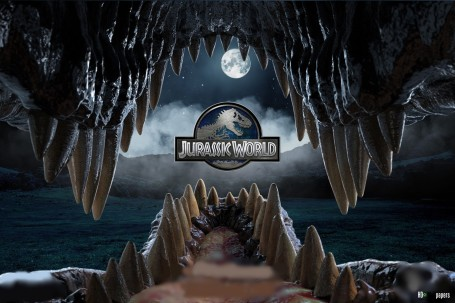 Although the excitement of a dinosaur amusement park blew viewers' minds away, it acted as a cover for the film's weak plot and mediocre characters. Photo from http://genesisdeluxecinemas.com