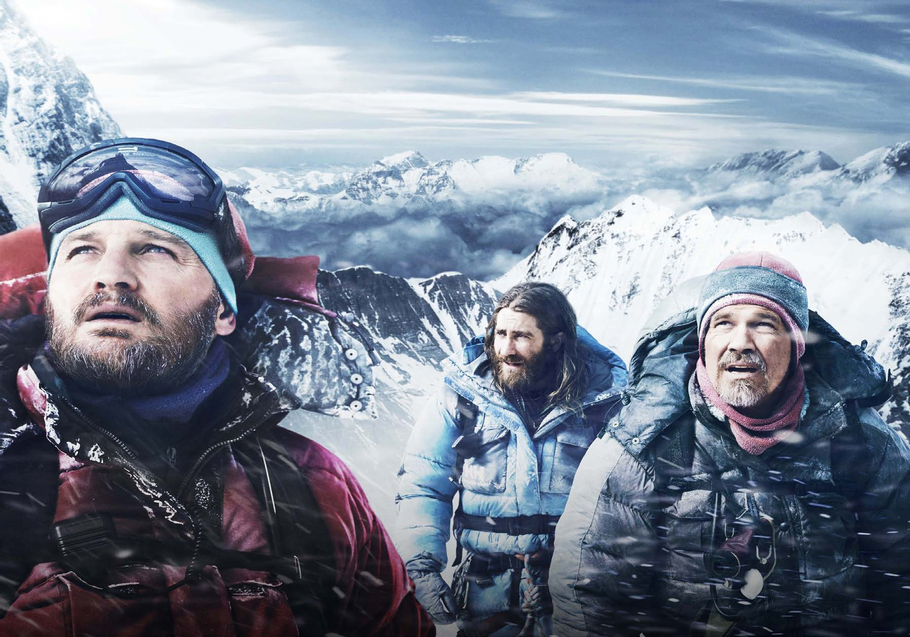 "Image from gold poster.com ""Everest"" captivates audiences and sends a chill down their spines."