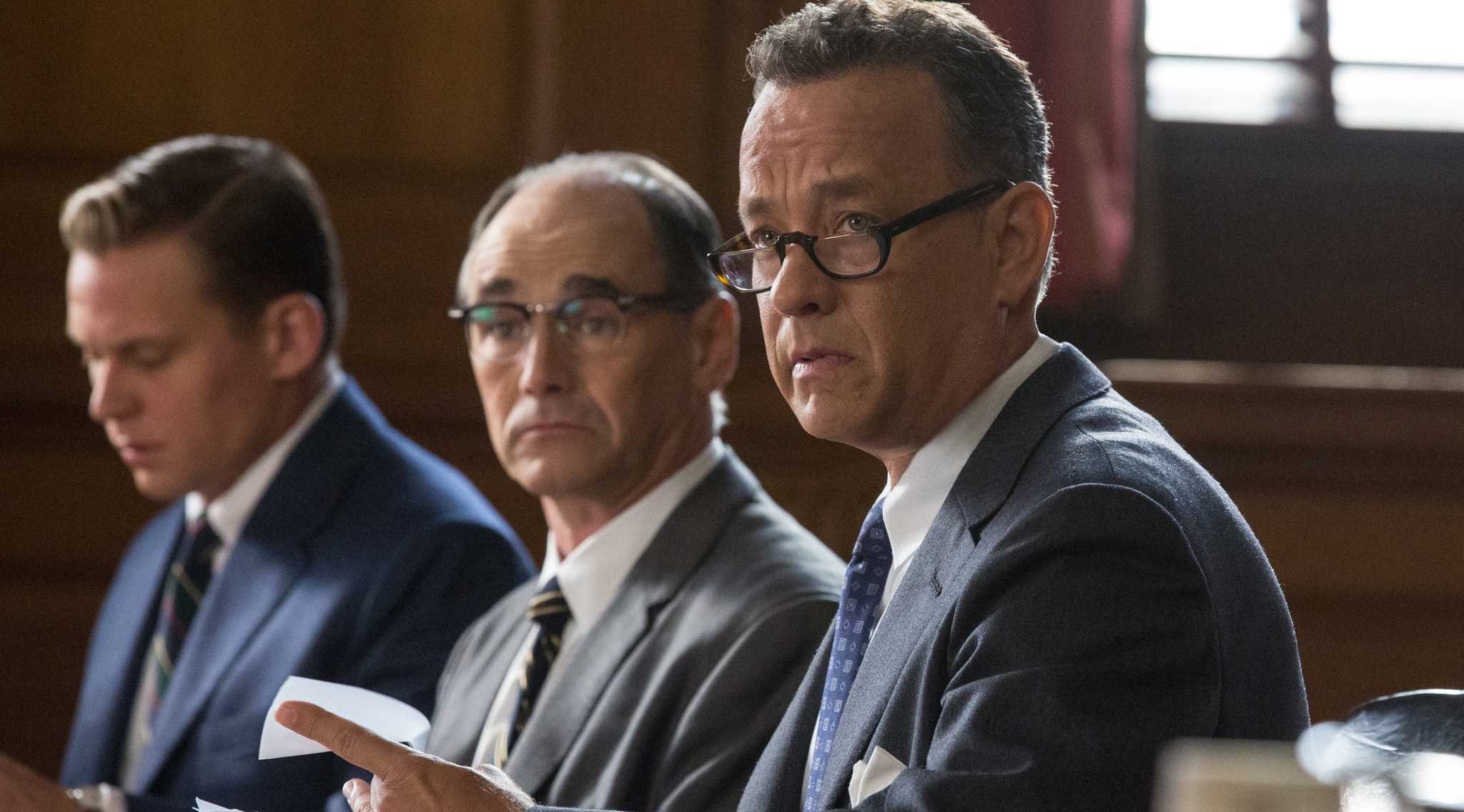 image from orlandosentinal.com Tom Hanks stars in Steven Spielberg's latest film Bridge Of Spies.