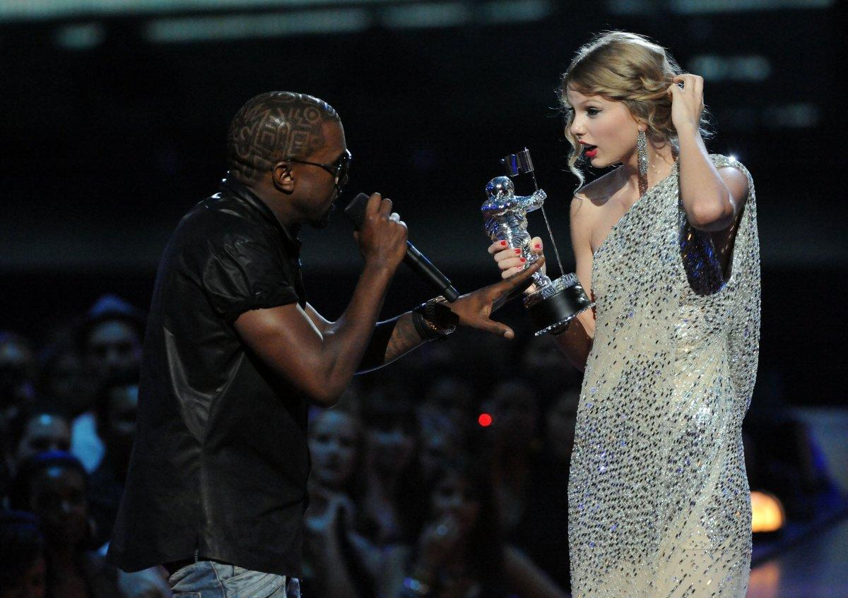 taylor swift & kanye west