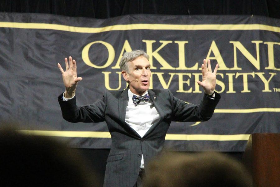 Bill Nye (The Science Guy) Speaks at Oakland University