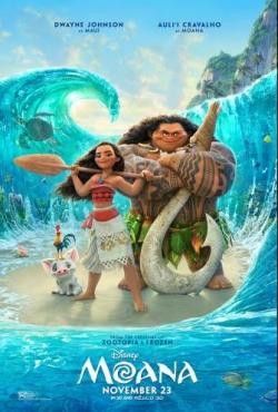 Free Tickets to see Moana, Thurs., Nov. 17