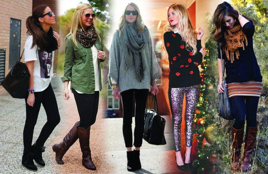 women+wearing+different+styles+of+leggings
