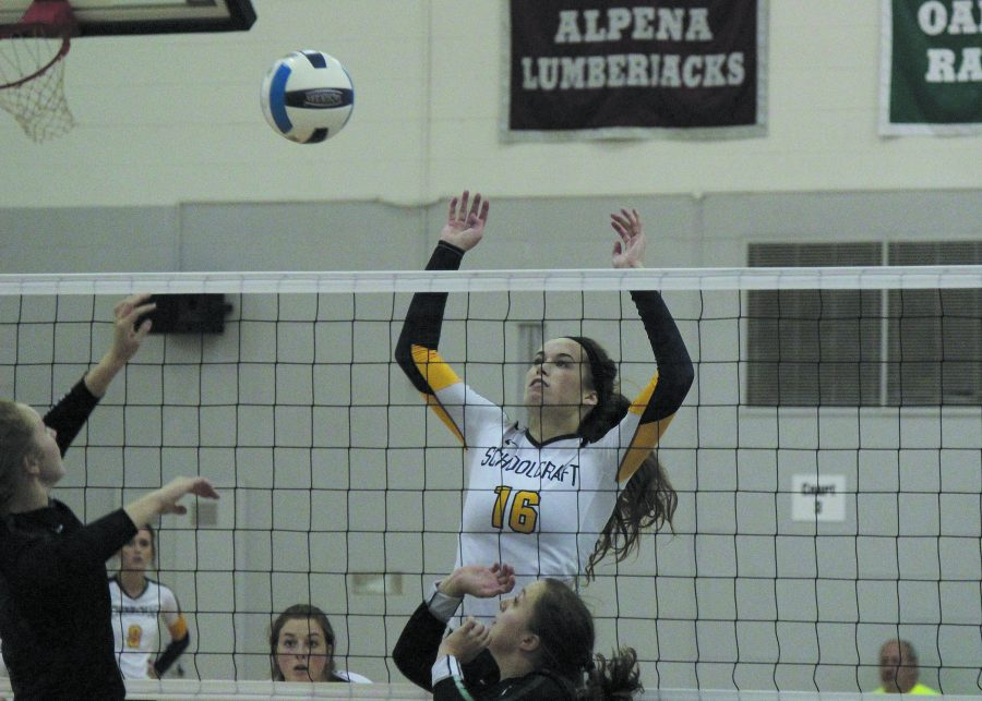 Volleyball ends season on high note