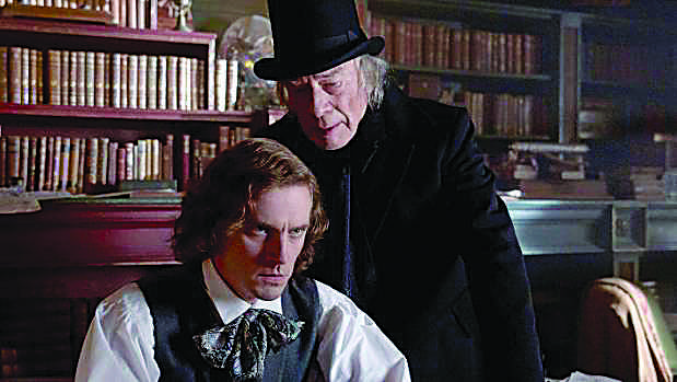 Ebeneezer+Scrooge+%28Christopher+Plummer%29+presses+author+Charles+Dickens+%28Dan+Stevens%29+to+look+within+aspects+of+himself+to+complete+%E2%80%9CA+Christmas+Carol%E2%80%9D+on+time.+Dialogue+between+Dickens+and+his+iconic+characters+helps+propel+the+story+forward+throughout+the+movie.%0A%28Image+from+www.stuff.co.nz%29
