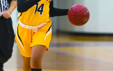 The Schoolcraft Women's Basketball team improved their winning streak to three games with a win over Mott Community College, Jan. 10. (Image from Student Activities Archives)