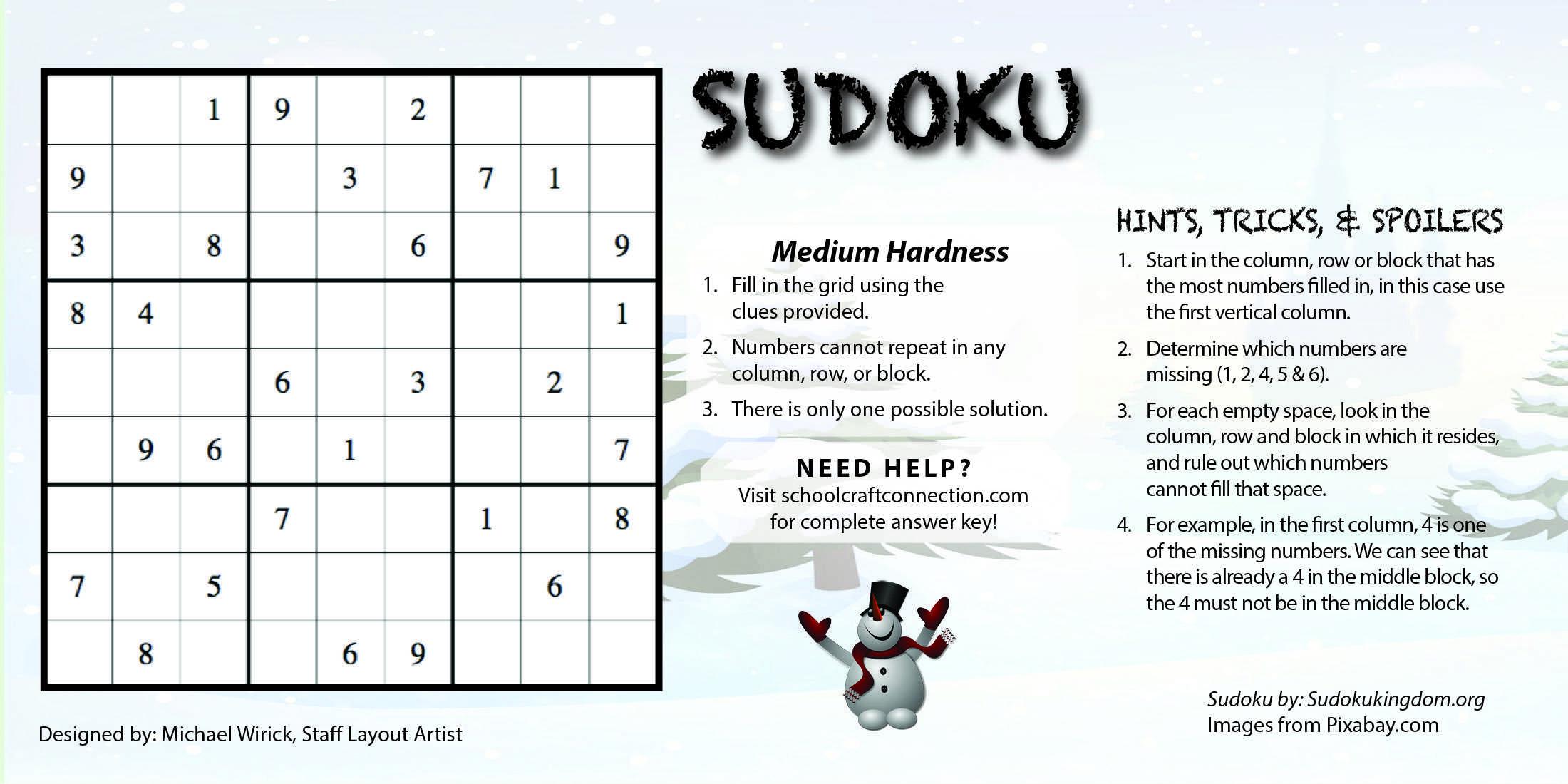 SudokuNewspaperWirick5