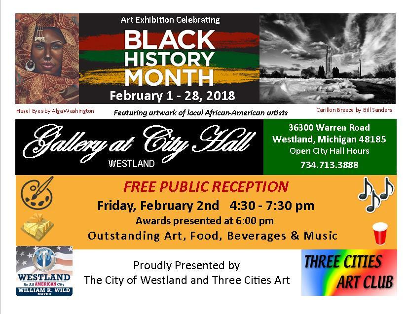 BlackHistoryMonthArtExhibit_cityofwestlandCOM