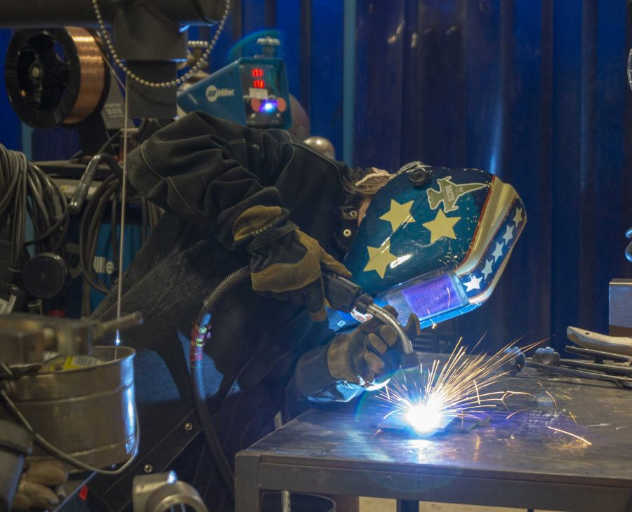 Welding Department Makes Sparks