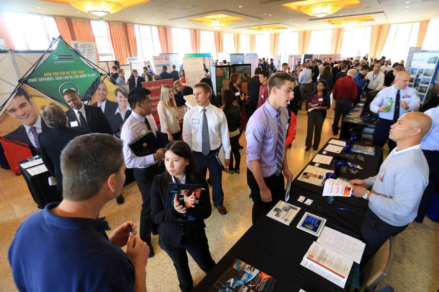 Employees, job seekers look to connect at annual job fair