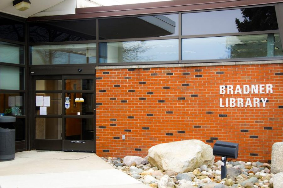 Bradner Library closes on campus services, reference desk support available remotely