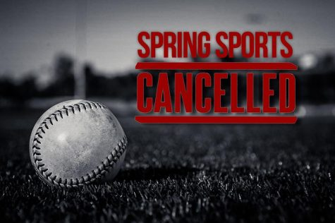 Spring sports season cancelled
