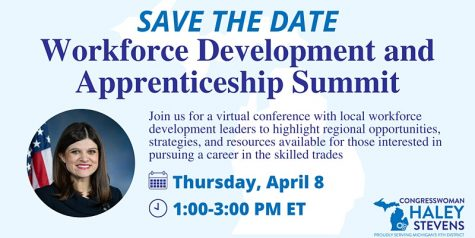 Congresswoman Haley Stevens hosts Workforce/Apprenticeship Summit, April 8