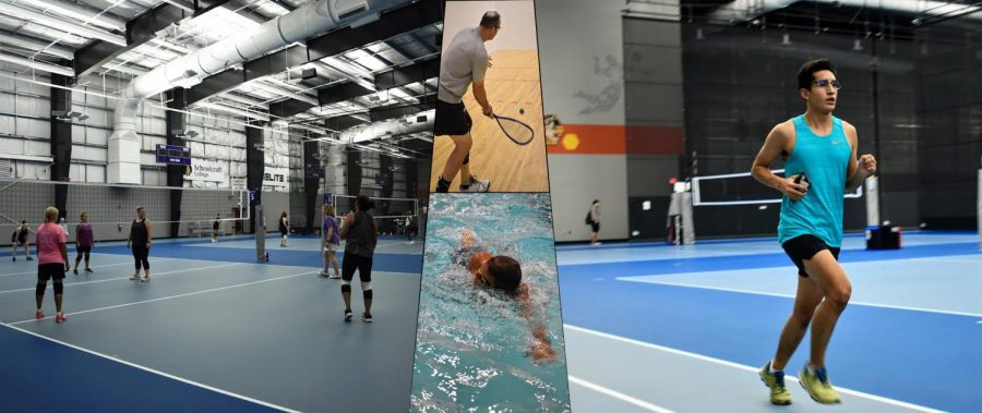 The Schoolcraft Fitness Center offers a variety of activities such as volleyball, racquetball, swimming, running and walking, for students, staff, faculty members and community members to take part in.