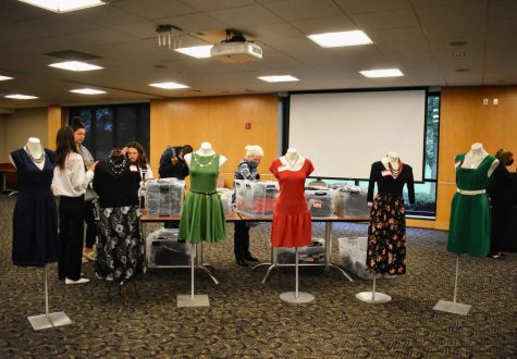 The non-profit Dress for Success visited Schoolcraft on October 7, 2021 from 10:00 AM- 2:00 PM for the purpose of providing students with clothing and accessories for the professional work environment.